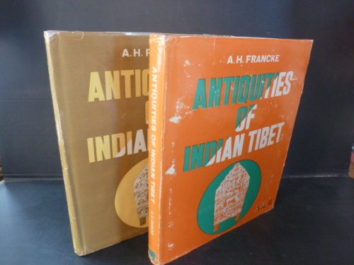 9788120607699: Antiquities of Indian Tibet -2 vols.