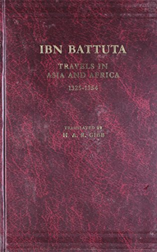 9788120608092: Travels In Asia And Africa, 1325-54