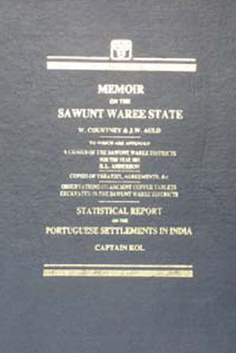 Memoir on the Sawunt Waree State: W. Courtney