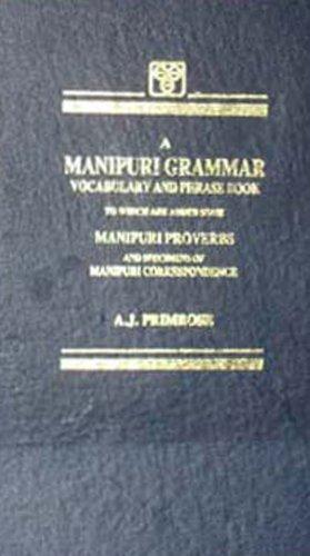 A Manipuri Grammar: Primrose A.J.