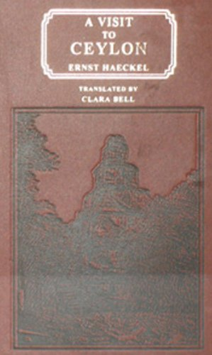 9788120610422: A Visit to Ceylon in the Years, 1881-82