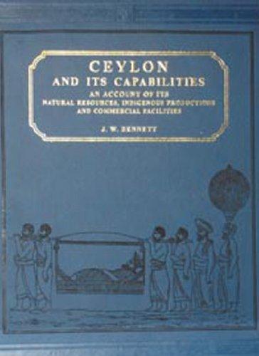 9788120611689: Ceylon and Its Capabilities