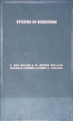 Studies in Buddhism: Friedrich Max Muller