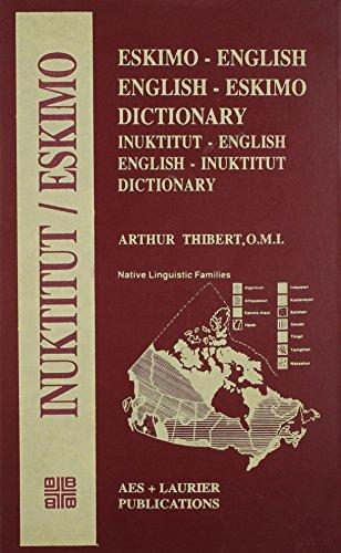9788120612556: Eskimo-English and English-Eskimo Dictionary