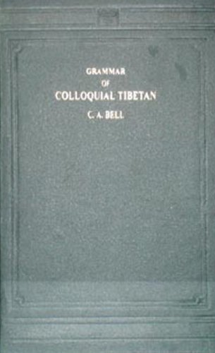 9788120613256: Grammar of Colloquial Tibetan