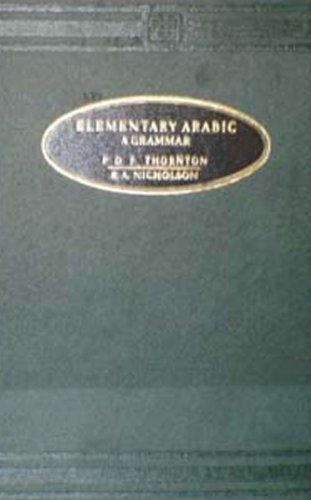 9788120613768: Elementary Arabic: A Grammar