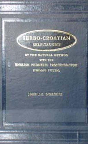 9788120614215: Serbo-Croatian Self Taught (Marlborough self-taught series)