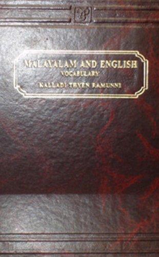 Malayalam And English Vocabulary: Ramunni, K. T.