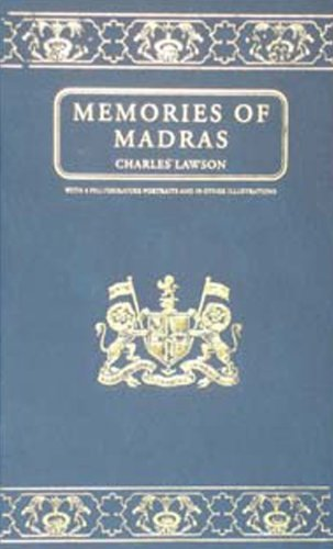Memories of Madras: Charles A.Lawson