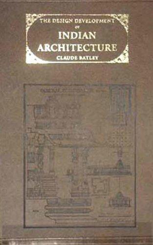 9788120616431: Design Development of Indian Architecture, The