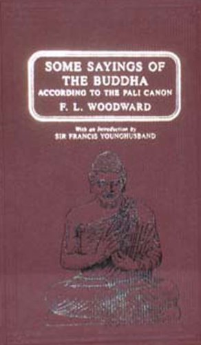 9788120616608: Some Sayings of the Buddha According to the Pali Canon