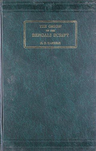 The Origin of the Bengali Script: Banerji, R. D.