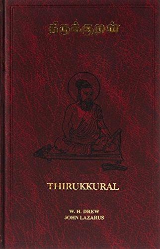 9788120620216: Thirukkural: Original Tamil With English Translation