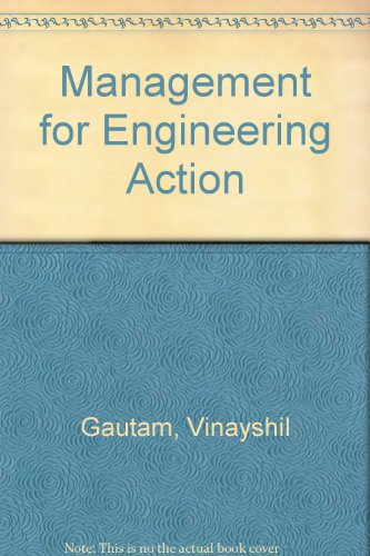 Management for Engineering Action (Signed copy)
