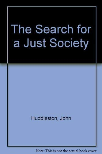 9788120719132: The Search for a Just Society