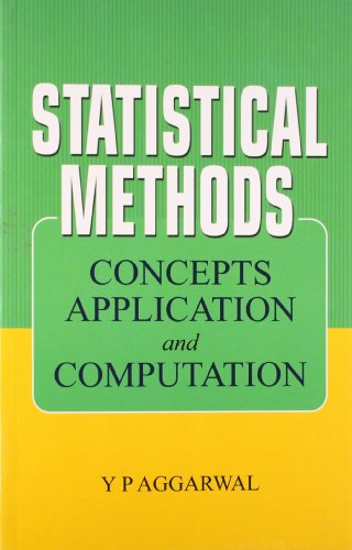 9788120720022: Statistical Methods: Concepts, Application and Computation