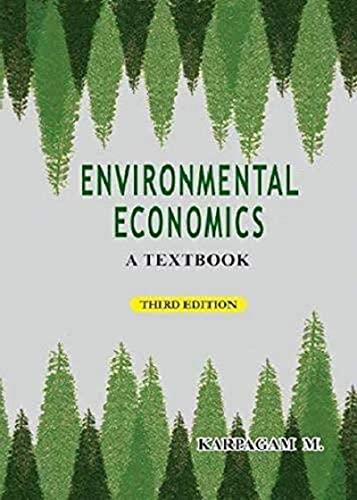 Environmental Economics: Karpagam M.