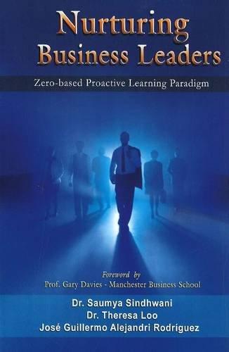 Nurturing Business Leaders: Zero-Based Proactive Learning Paradigm: Dr. Saumya Sindhwani,