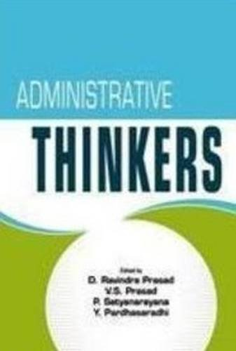 9788120754140: Administrative Thinkers