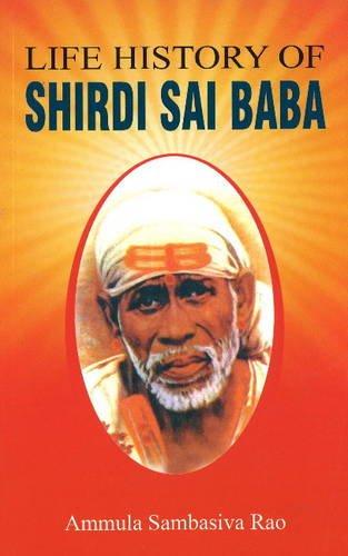 9788120777224: Life History of Shirdi Sai Baba