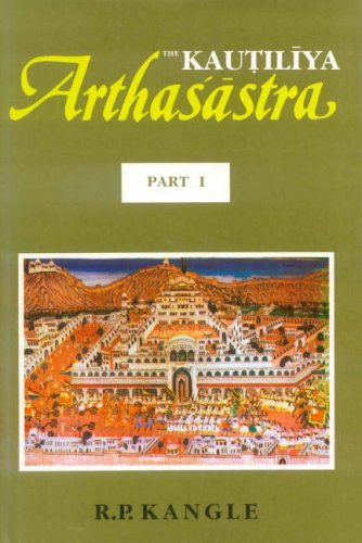 The Kautilya Arthasastra: Part I: R.P. Kangle