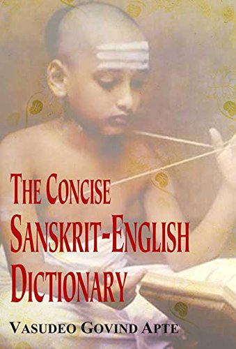 9788120801516: The Concise Sanskrit-English Dictionary