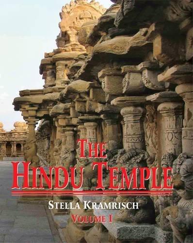 9788120802223: The Hindu Temple: Pt. 1 & 2