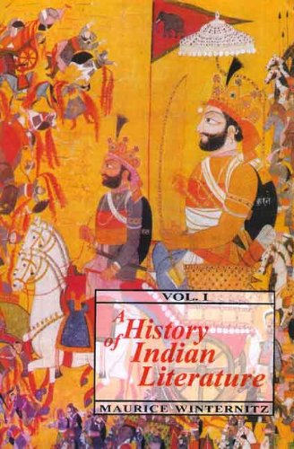 A History of Indian Literature: Vol. 1: Winternitz Maurice