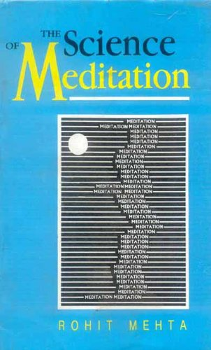 9788120802971: The Science of Meditation