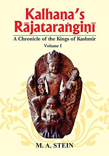 9788120803688: Kalhana's Rajatarangini: v. 1, 2, 3: A Chronicle of the Kings of Kashmir
