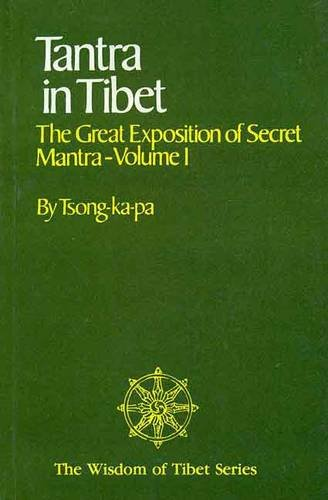 Tantra in Tibet: Tsong-Ka-Pa Hopkins Jeffrey