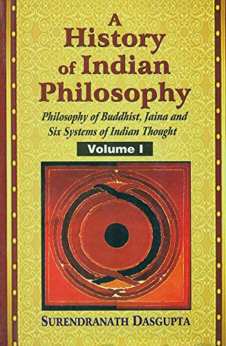 9788120804081: A History of Indian Philosophy (5 Vols.)