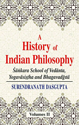 9788120804135: A History of Indian Philosophy, Vol. 2