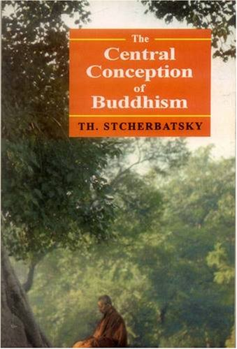 9788120805125: The Central Conception of Buddhism and the Meaning of the Word 'Dharma'