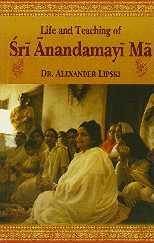 9788120805316: Life and Teaching of Sri Anandamayi Ma