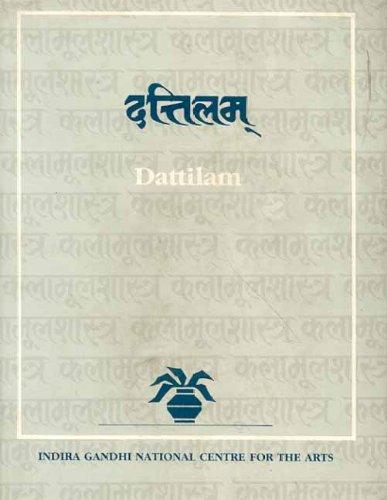 9788120805866: Dattilam (Indira Gandhi National Centre for the Arts)