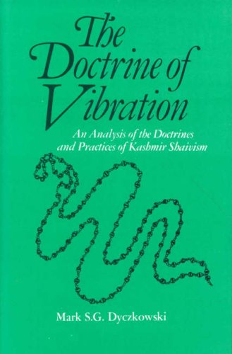 9788120805965: The Doctrine of Vibration: An Analysis of the Doctrines and Practices of Kashmir Shaivism