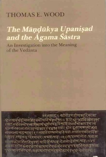9788120809307: The Mandukya Upanisad and the Agama Sastra: An Investigation into the Meaning of the Vedanta