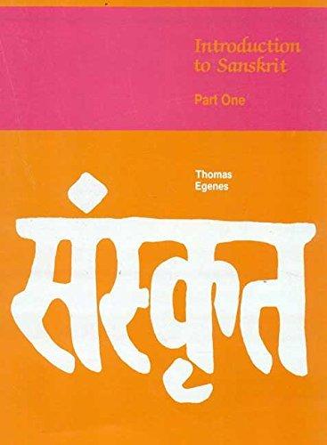 9788120811409: Introduction to Sanskrit, Part 1