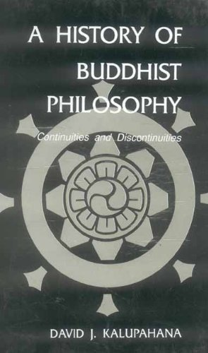 9788120811911: A History of Buddhist Philosophy.: Continuity and Discontinuity