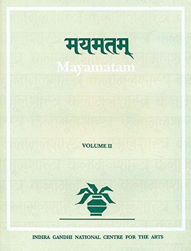 9788120812260: Mayamatam (2 Vols.) (Indira Gandhi National Centre for the Arts) (Pt. 14 & 15)