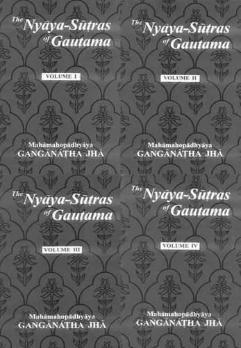 9788120812642: Nyaya- Sutras of Gautama (4 Vol. Set)