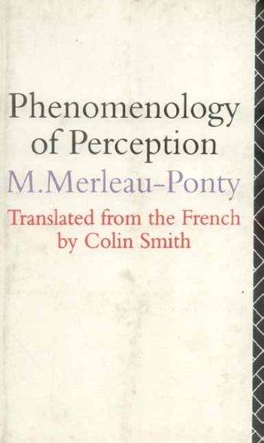 9788120813465: Phenomenology of Perception
