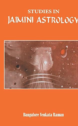 9788120813977: Studies in Jaimini Astrology