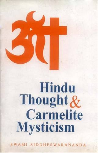 9788120815100: Hindu Thought and Carmelite Mysticism