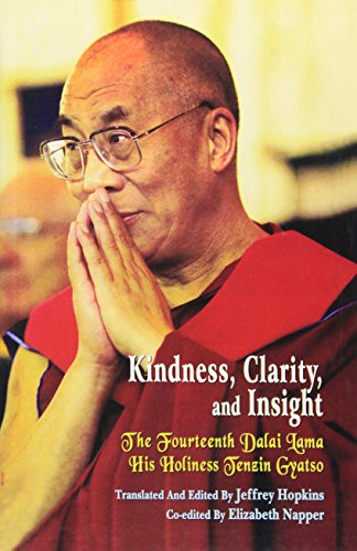 9788120815131: Kindness, Clarity, and Insight: The Fourteenth Dalai Lama His Holiness Tensin Gyatso