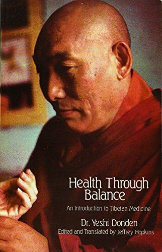 9788120815193: Health Through Balance: An Introduction to Tibetan Medicine