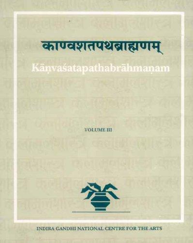 Kanvasatapathabrahmanam (Kalamulasastra Series No. 30), Vol. III: C.R. Swaminathan