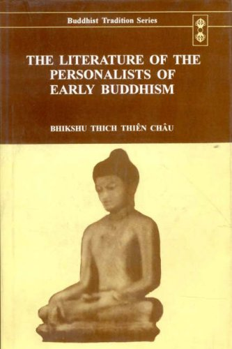 9788120816220: The Literature of the Personalists of Early Buddhism