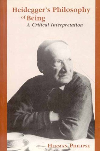 Heidegger's Philosophy of Being: A Critical Interpretation (8120816846) by Herman Philipse